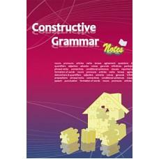 Constructive Grammar Notes
